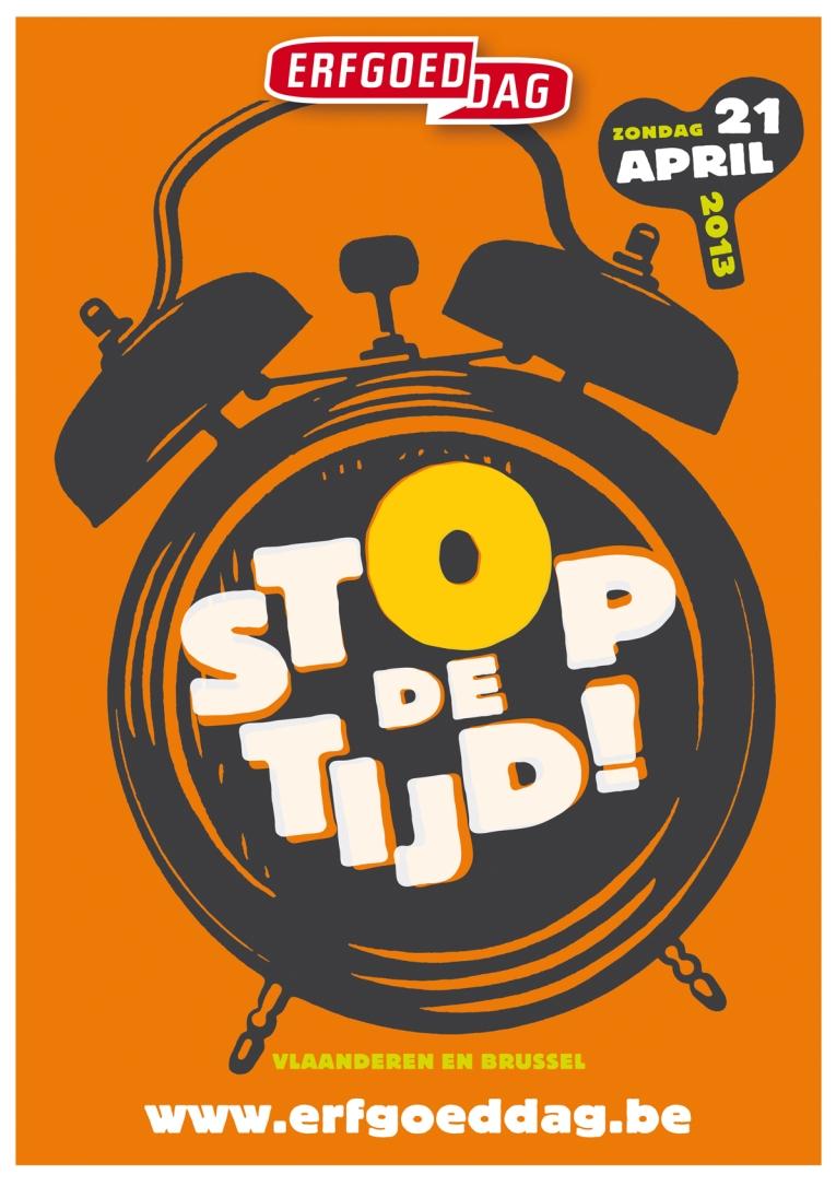 Campagnebeeld Stop de tijd!